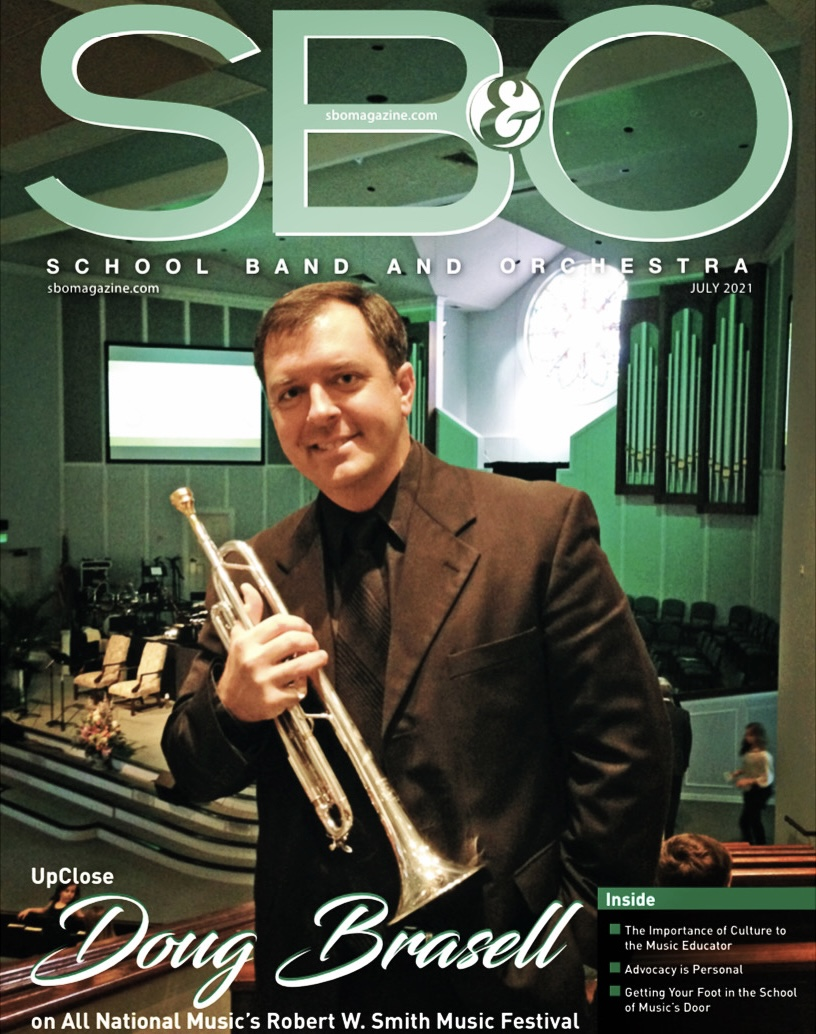 We are on the cover of SBO Magazine!
